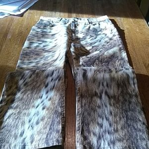 Roberto Cavalli Collection Leopard pants authentic